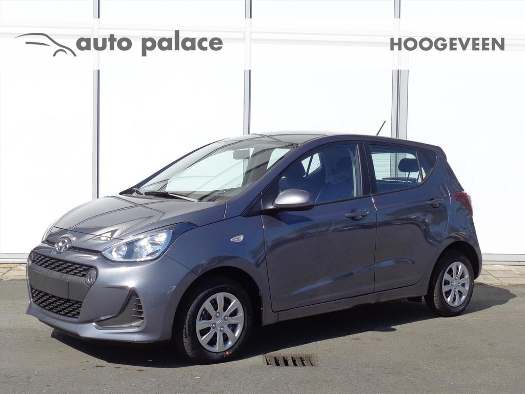 Hyundai I10 1.0i blue 66pk comfort navigatie airco bleutooth apple carplay