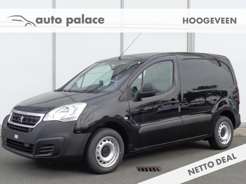 Peugeot Partner Gb 120 l1 1.6 bluehdi 75pk 2-zits premium netto deal € 12.595,-