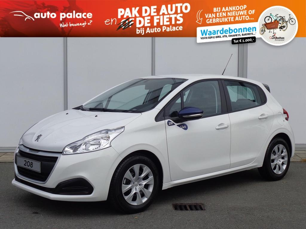 Peugeot 208 1.2 puretech 68 pk like netto deal airco cruise control