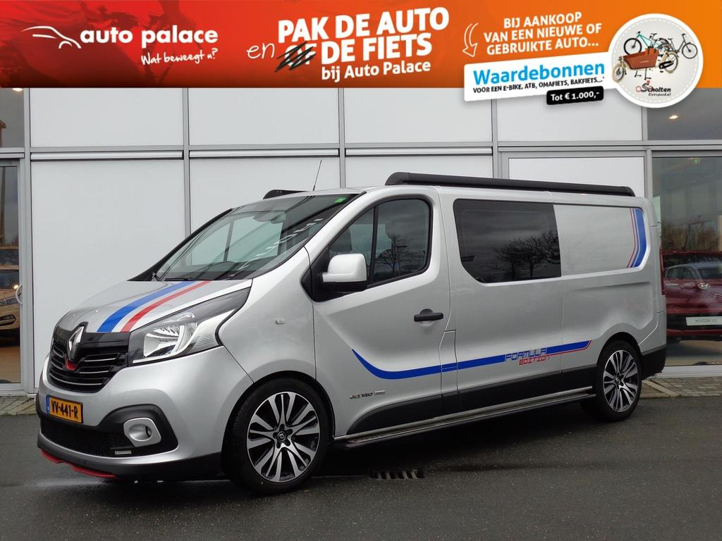 Renault Trafic Dci 145 pk twin turbo l2h1 dc formula edition