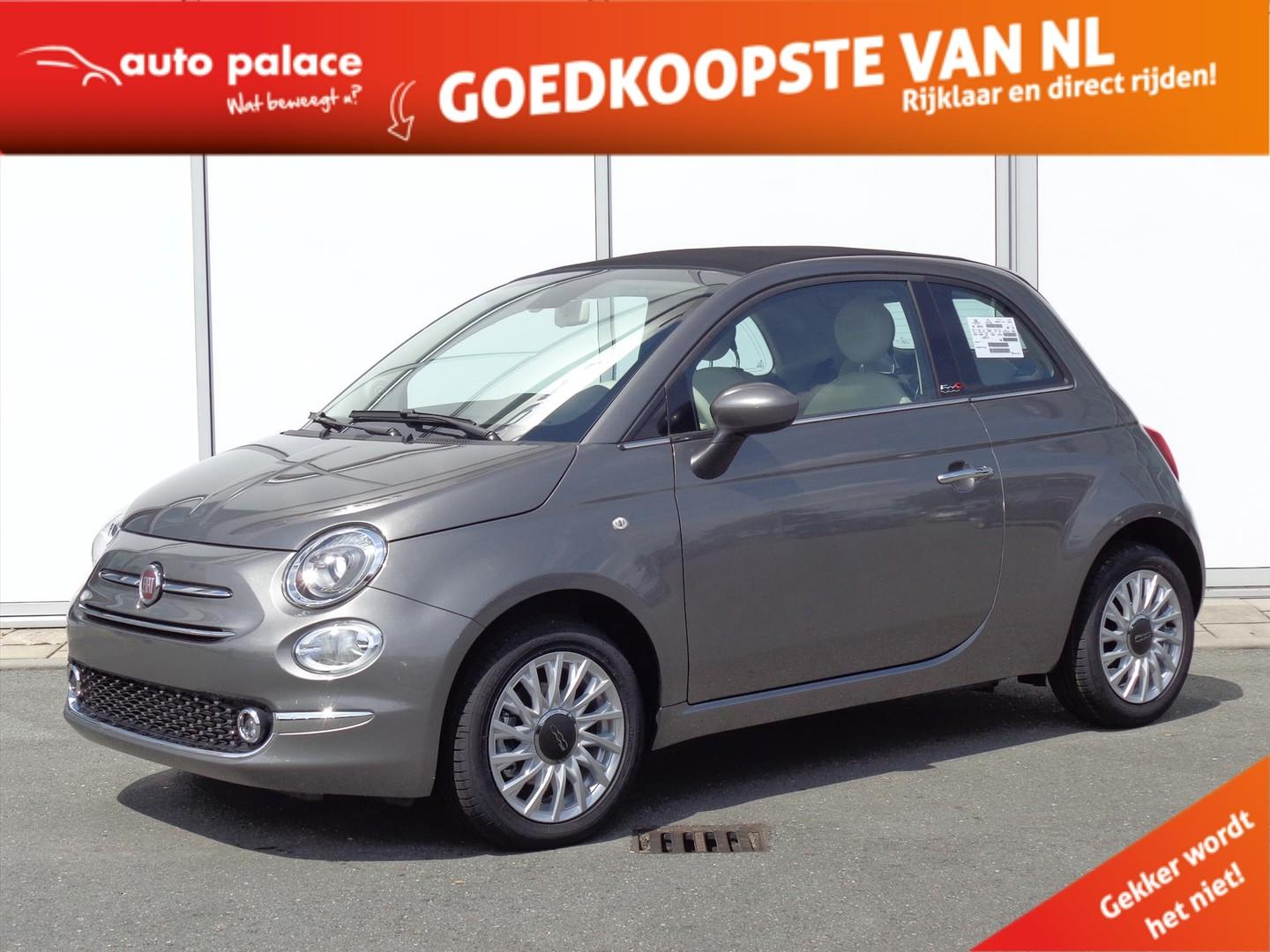 Fiat 500c Cabrio turbo 85 pk lounge