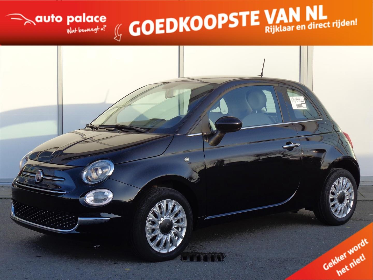 Fiat 500 1.2 69pk start & stop dualogic lounge