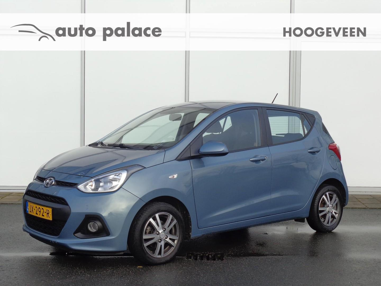 Hyundai I10 1.0i blue 66pk i-motion comfort plus