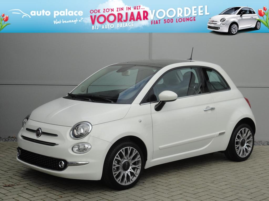 Fiat 500 Turbo 80pk lounge