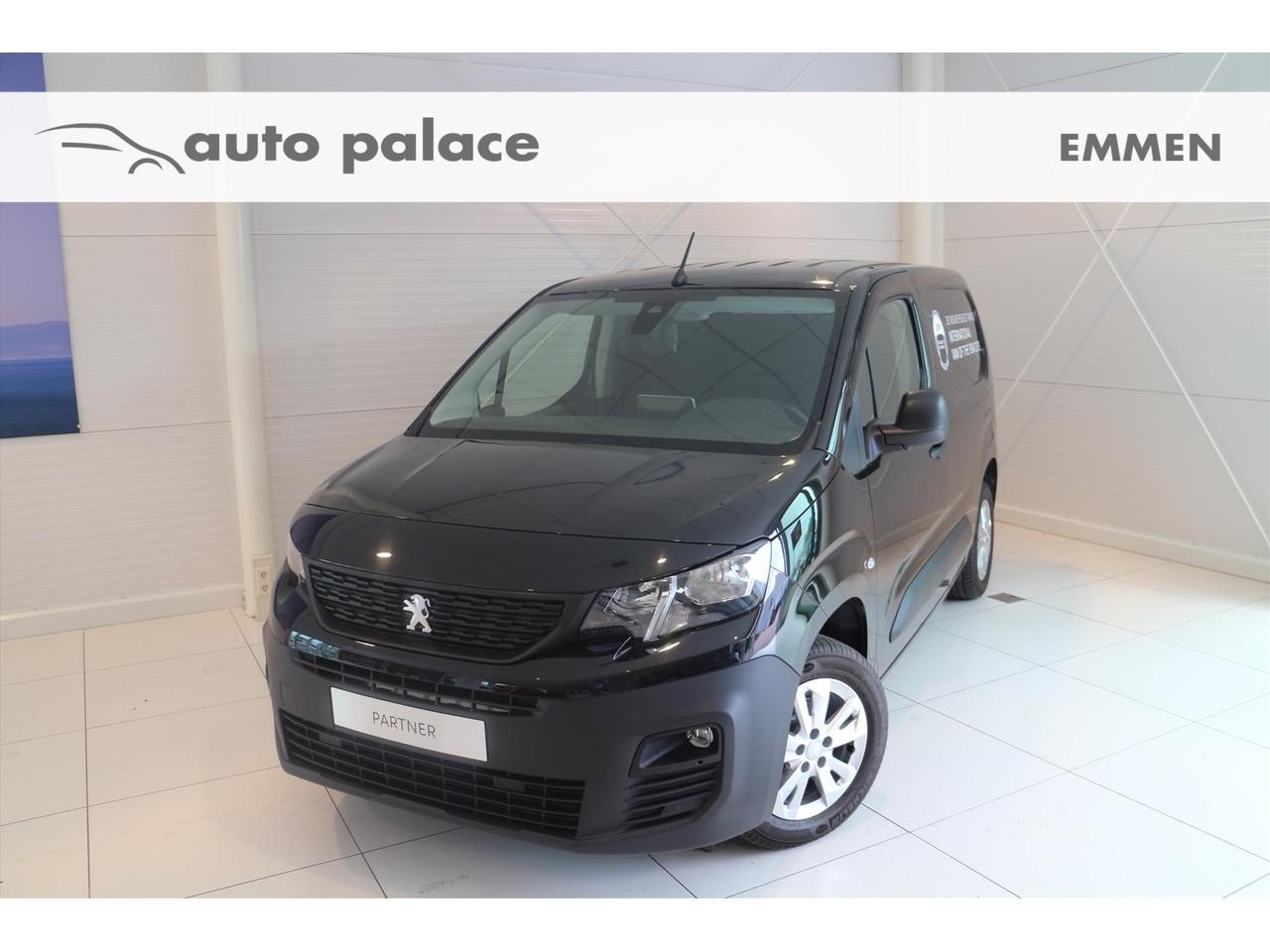 Peugeot Peugeot Partner 1.6 bluehdi 100pk 650kg asphalt