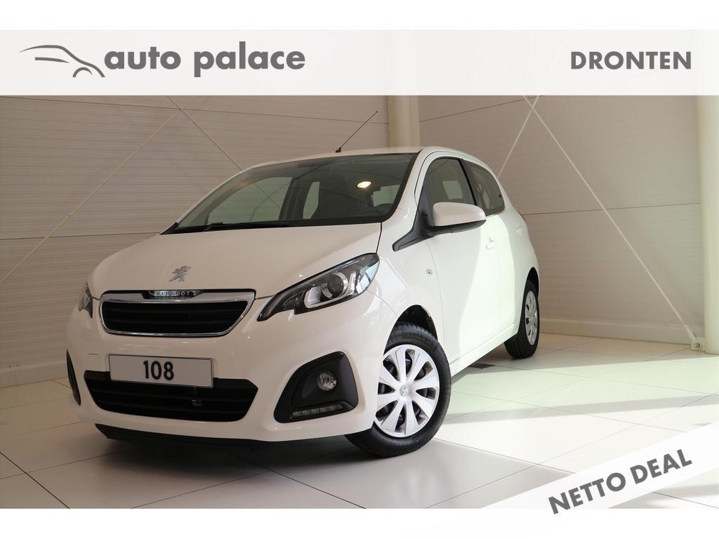 Peugeot 108 Active 5drs. 1.0 72pk.