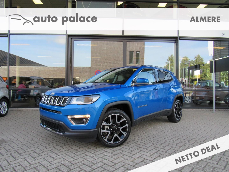 Jeep Compass 1.4 turbo 140pk limited unieke kleur, waanzinnig!!