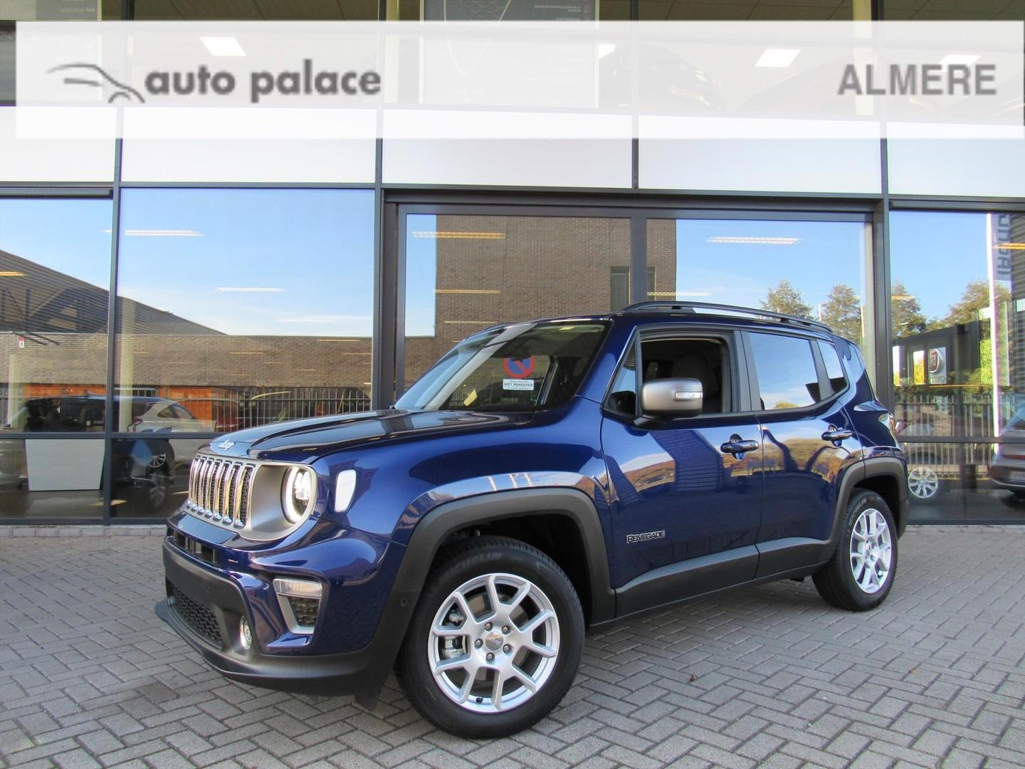 Jeep Renegade 1.0 multiair 120pk limited nieuw 2019 model