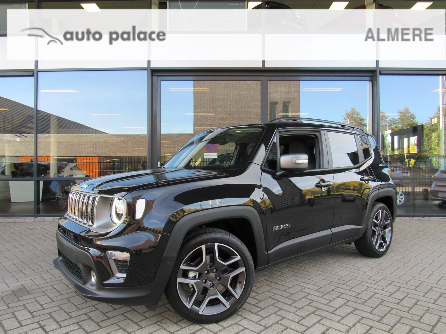 Jeep Renegade 1.0 multiair 120pk limited nieuw model 2019