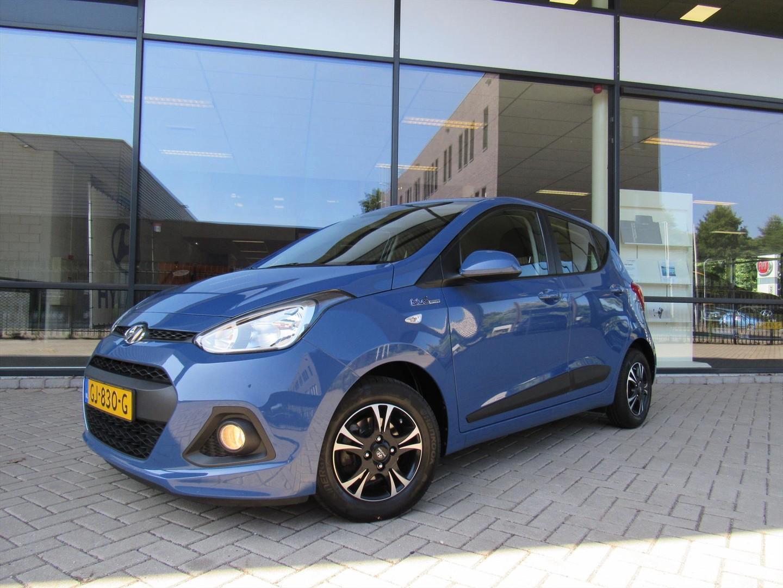 Hyundai I10 1.0i 66pk blue 4pl. comfort climate en lm velgen