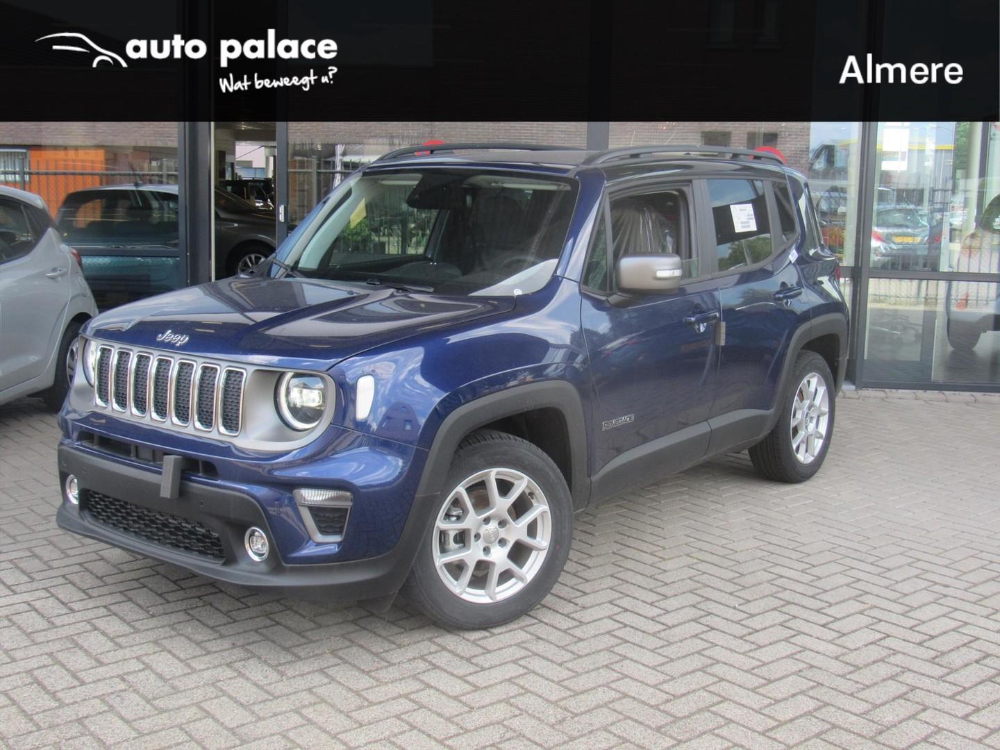 Jeep Renegade 1.0t 120pk limited mt6