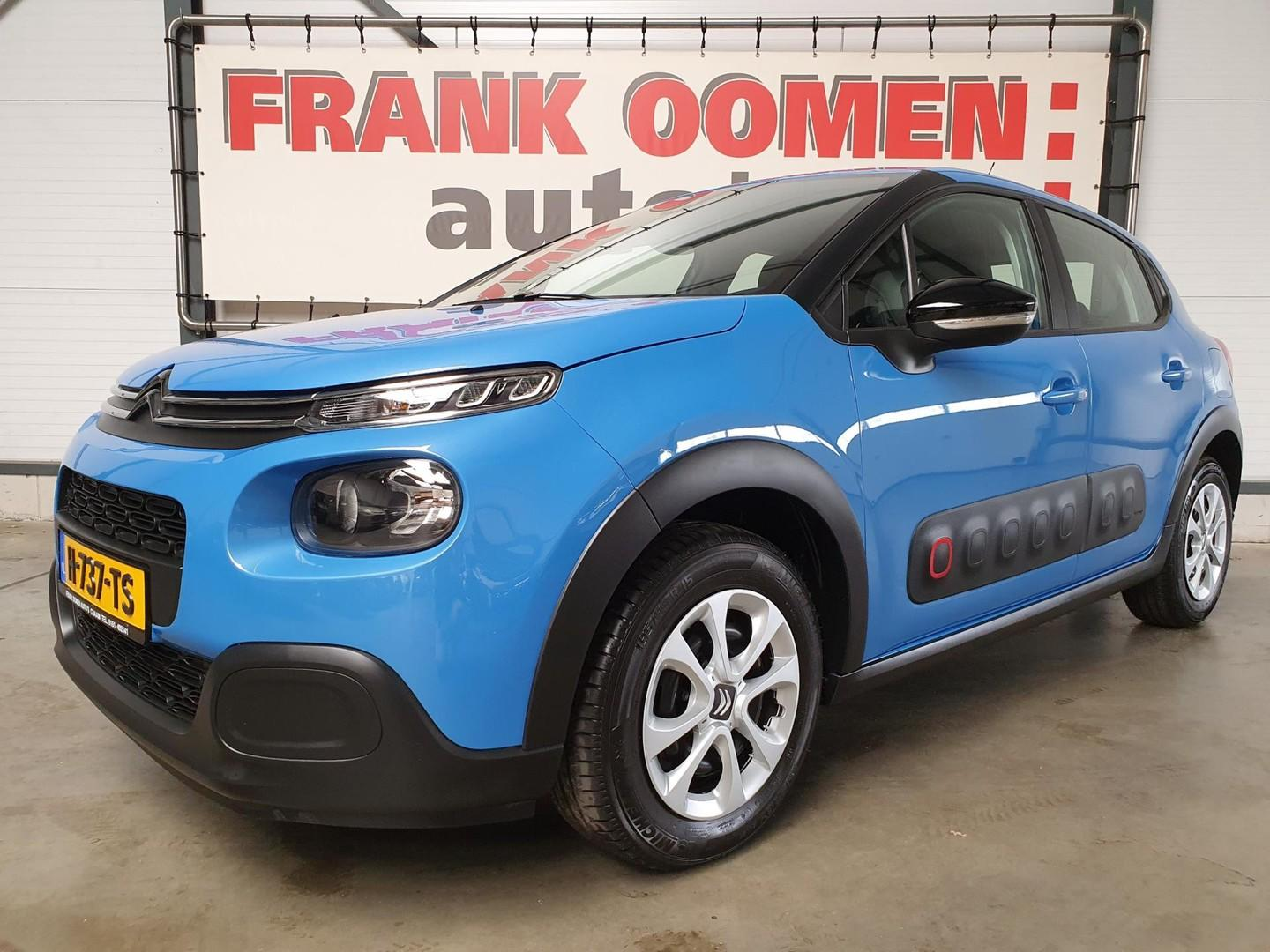Citroën C3 1.2 puretech 83pk s&s feel edition + airco/cruise control/led/pdc/lane warning/bluetooth