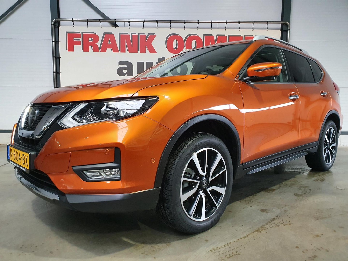 "Nissan X-trail 1.3 dig-t 159pk n-connecta 7pers. + navi/panorama/camera/pdc/bluetooth/clima/cruise/19""lmv"