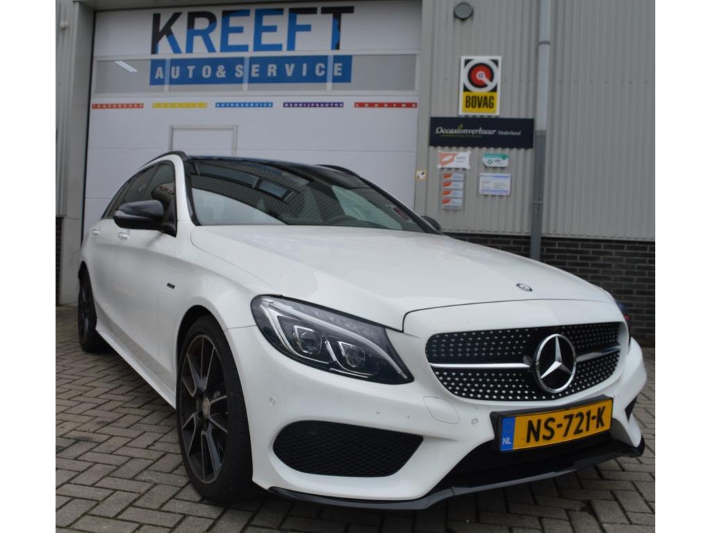 Mercedes-benz C-klasse Estate 450 amg 4matic uniek, topstaat,