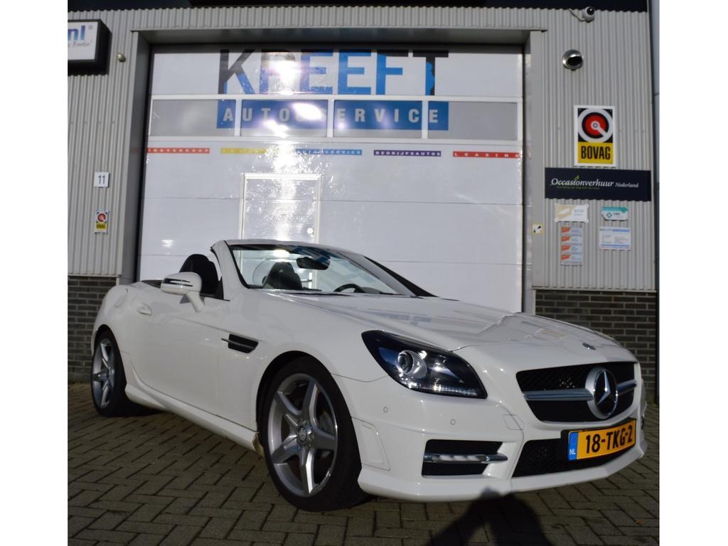 Mercedes-benz Slk-klasse 200 amg line, dealeronderhouden.