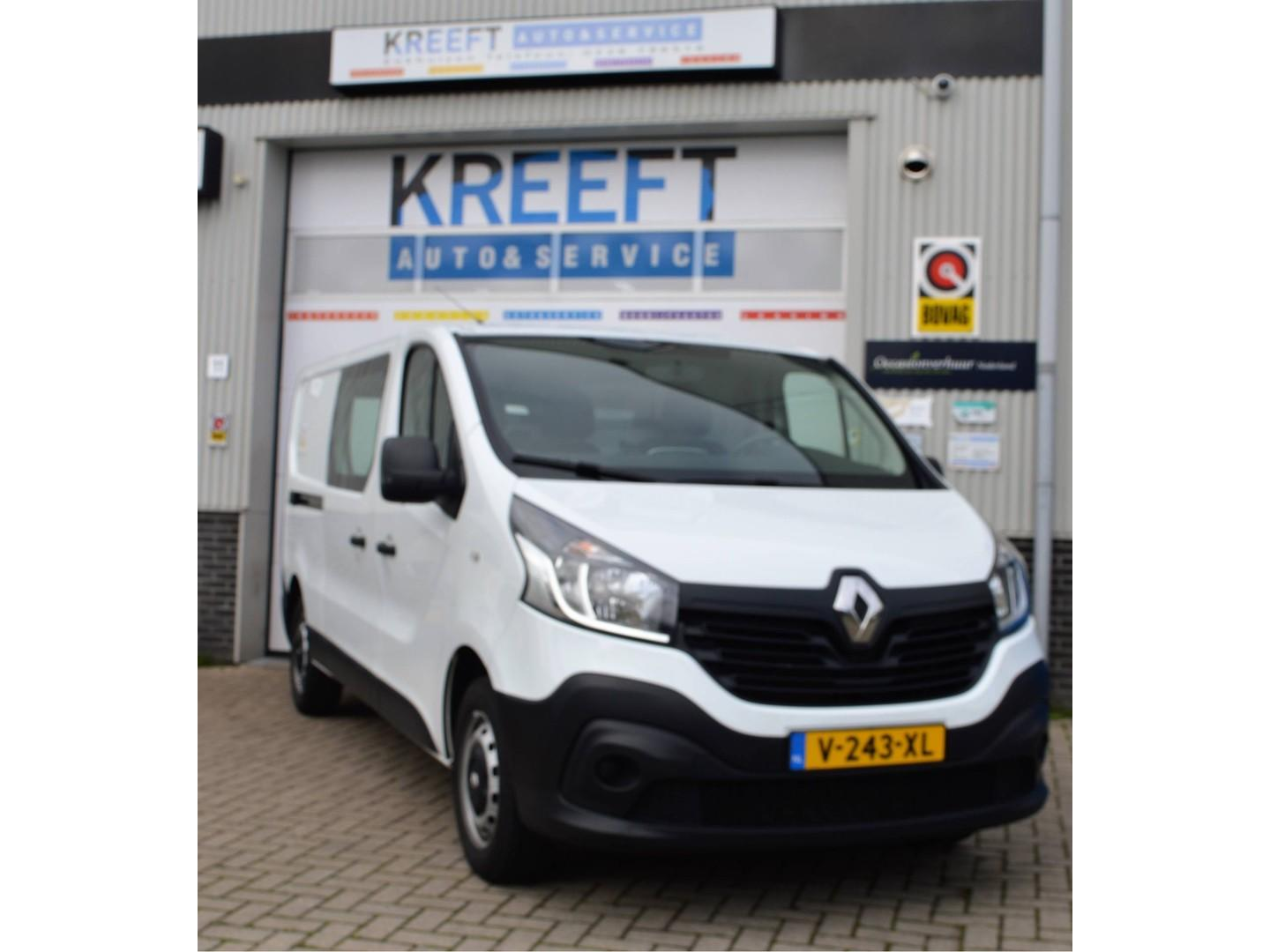Renault Trafic 1.6 dci t29 l2h1 comfort airco, touchscreen, navi