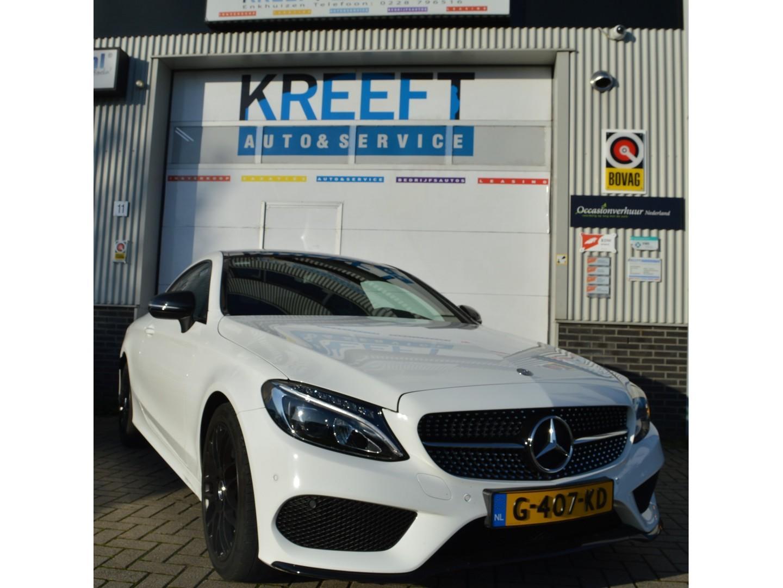 Mercedes-benz C-klasse Coupé 180 edition 1 amg/night pakket