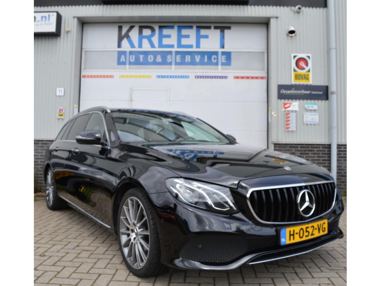 Mercedes-benz E-klasse Estate 220 d premium plus amg, beigeleder, burmeister, camera, groot navi