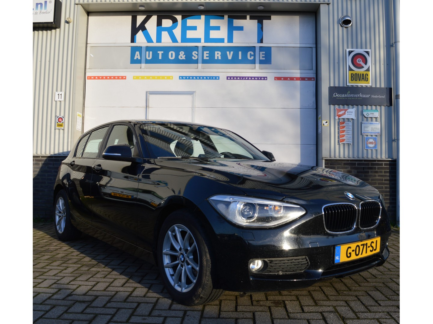 Bmw 1 serie 116d business+ cruise, pdc, airco