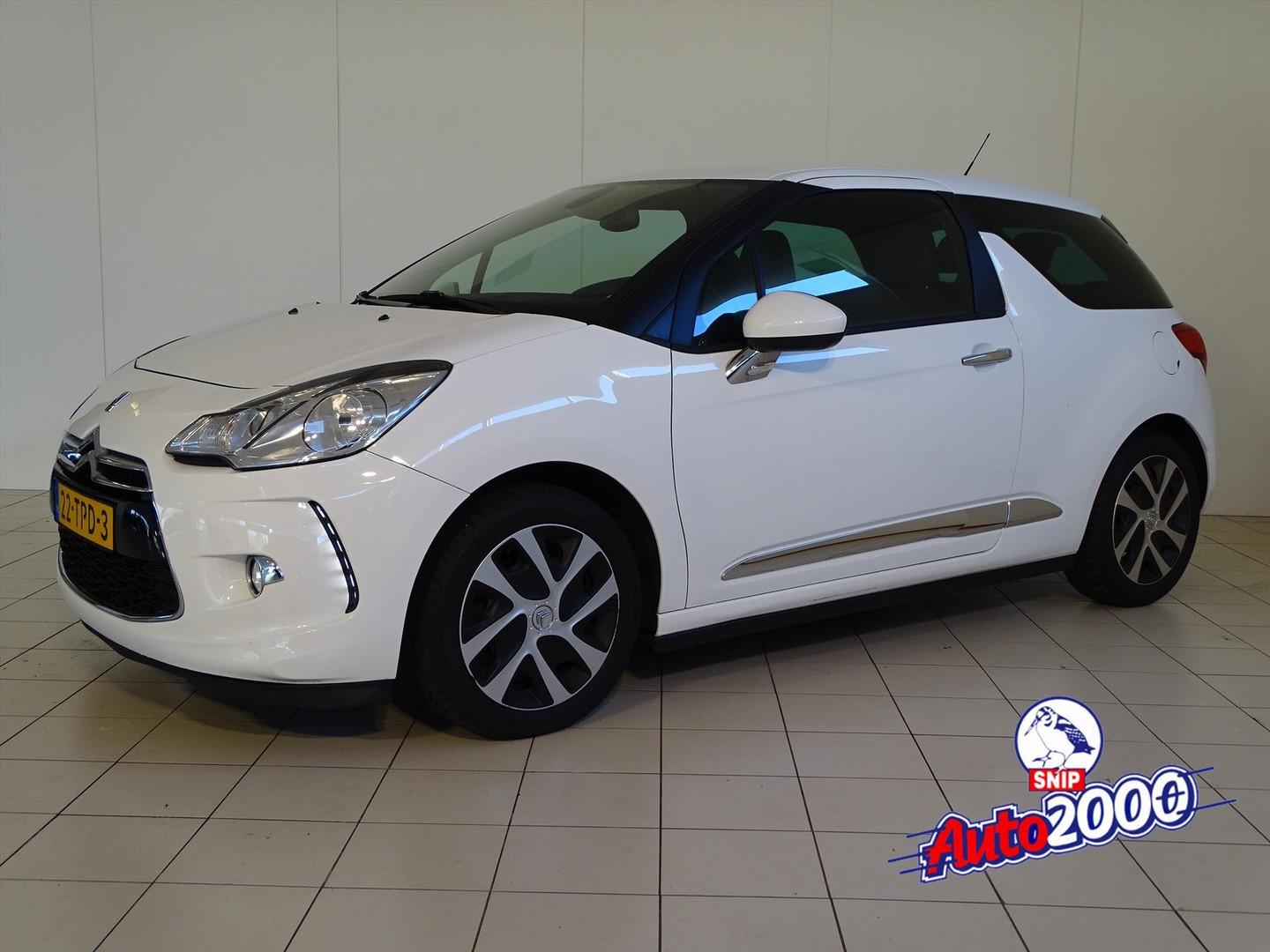 Citroën Ds3 1.6 e-hdi airdream 92pk 91g so chic nav.
