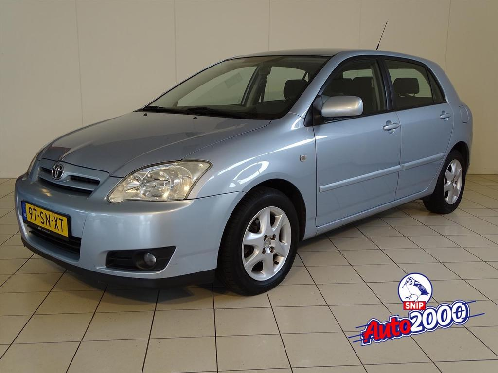 Toyota Corolla 1.6 16v vvt-i 5dr annivers.nw.apk!