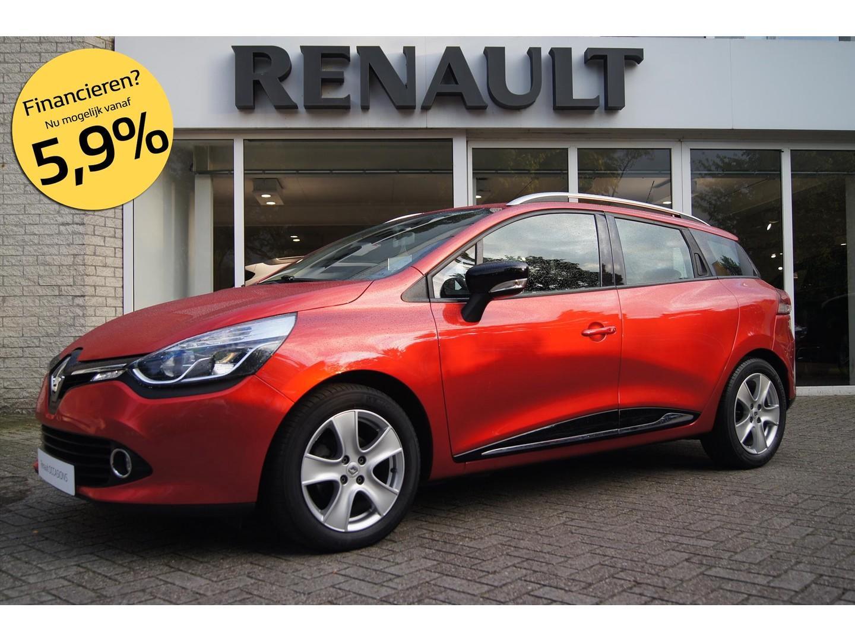 Renault Clio 1.5 dci 90 pk dynamique r-link *nl-auto 1e eig.*