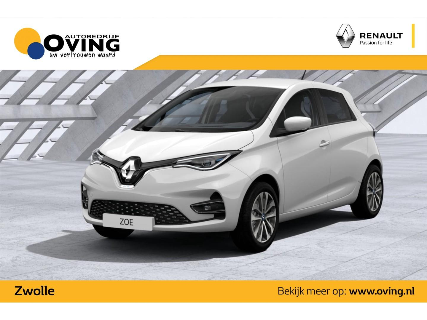 Renault Zoe new R135 intens batterijhuur