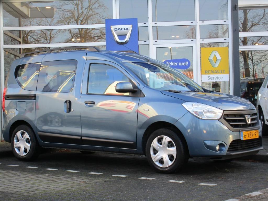 Dacia Dokker 1.5 dci 90pk lauréate - hoge instap - trekhaak - airco - uniek!-