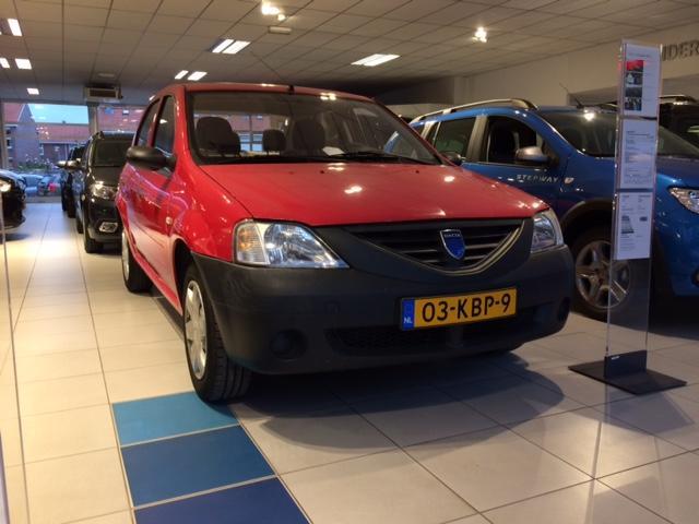 Dacia Logan 1.4 sedan - trekhaak - lage km stand - nieuwe apk -