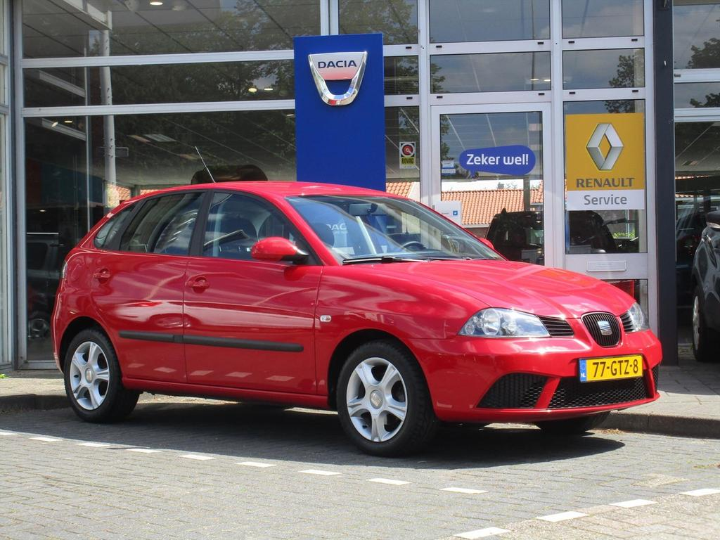Seat Ibiza 1.4 16v 63kw 5-drs - airco - nieuwe distributie -