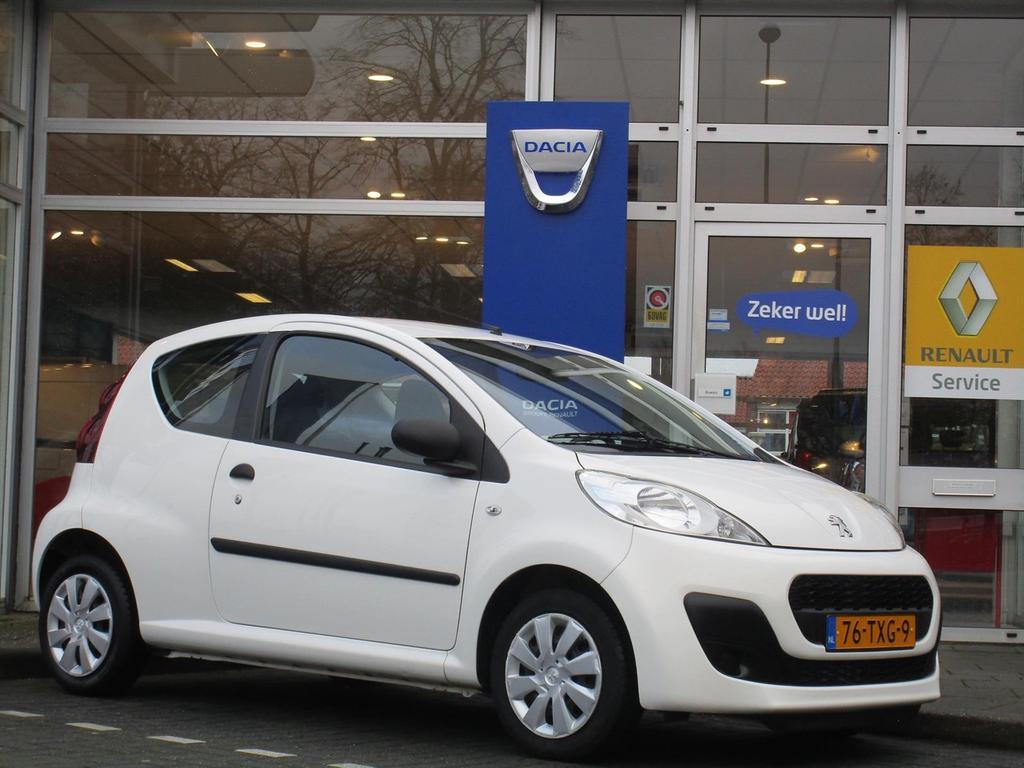 Peugeot 107 1.0 68pk 3d access - airco - alle rekeningen - bluetooth -