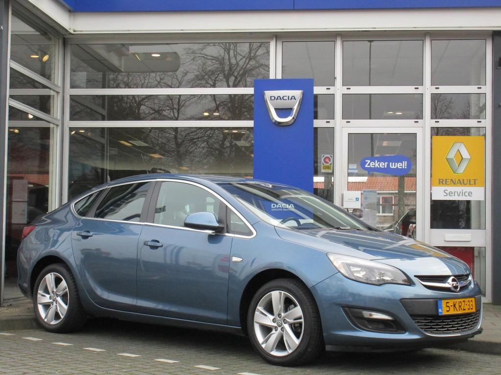 Opel Astra 1.4 turbo start/stop 140pk edition