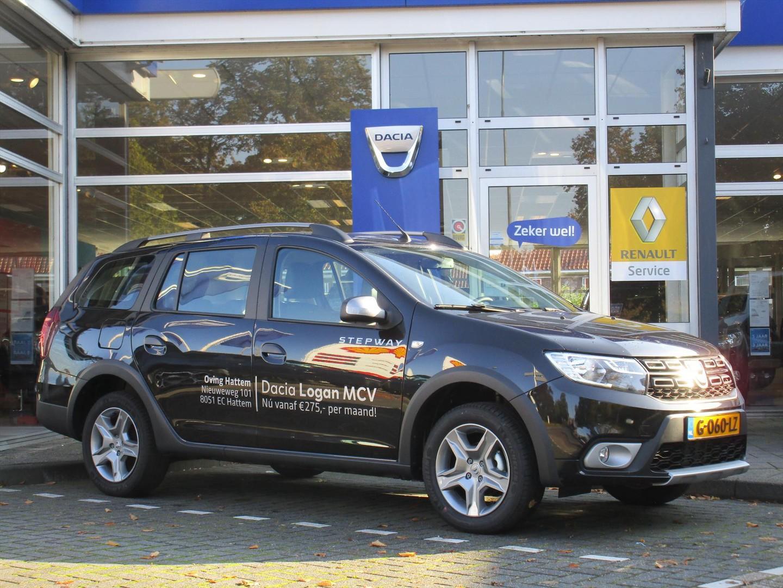 Dacia Logan Mcv 0.9 tce 90pk stepway - leder - navigatie - demonstratieauto -