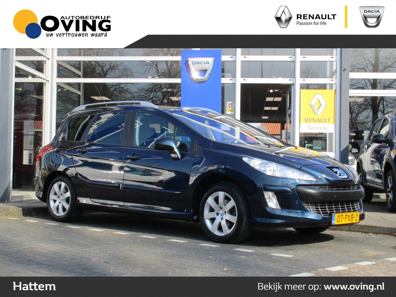 Peugeot 308 1.6 vti 16v sw 5p - leuke nette auto - boekjes - clima - trekhaak - cruise - panorama dak -