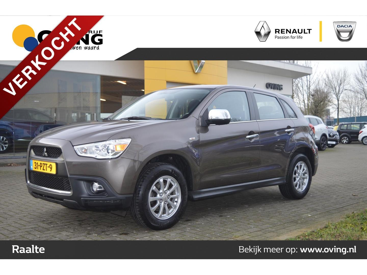 Mitsubishi Asx 1.6 117pk cleartec met as&g intro edition