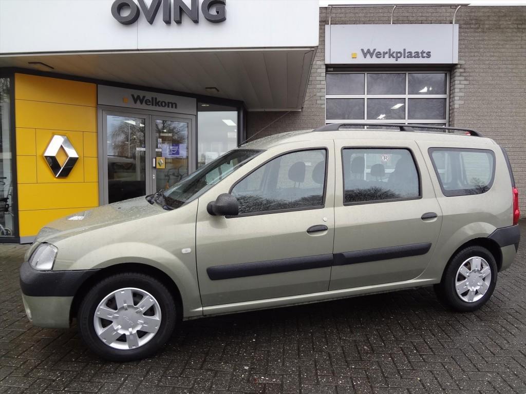 Dacia Logan Mcv 1.6 mpi laureate50%/6mnd uitgestelde betaling met 1,9% rent