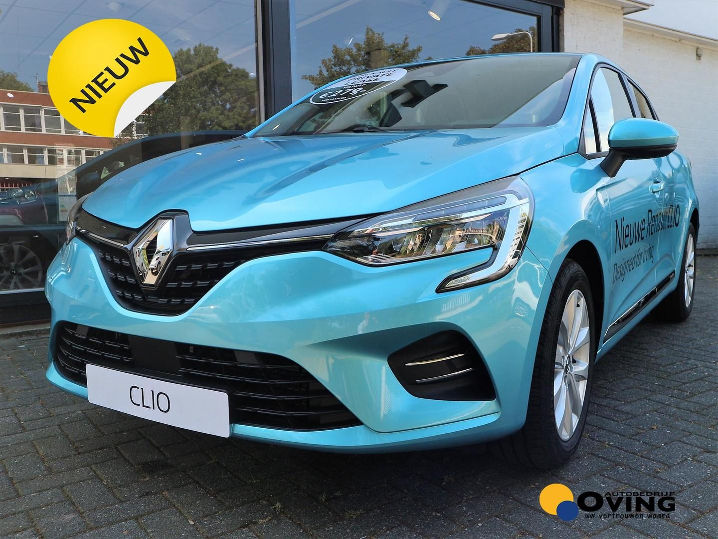 Renault Clio New 1.0 tce 100pk zen *private lease va.€ 279* fin va. 3,9%*