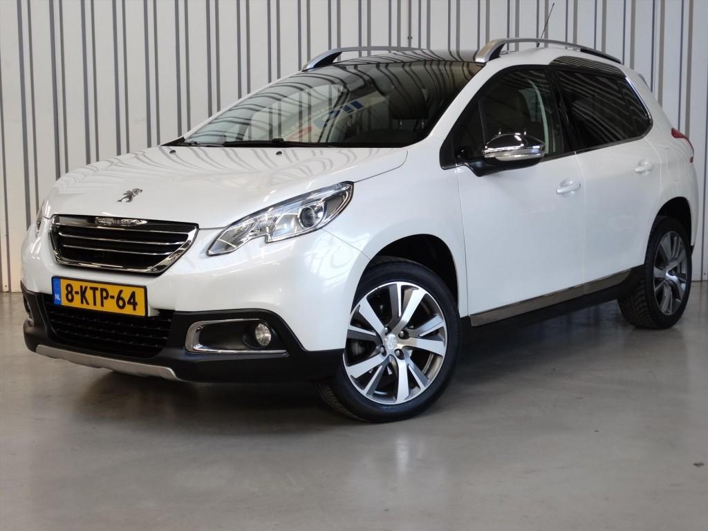 "Peugeot 2008 Premiere 1.6vti 120pk * nav * panoramadak * 17"" velgen"