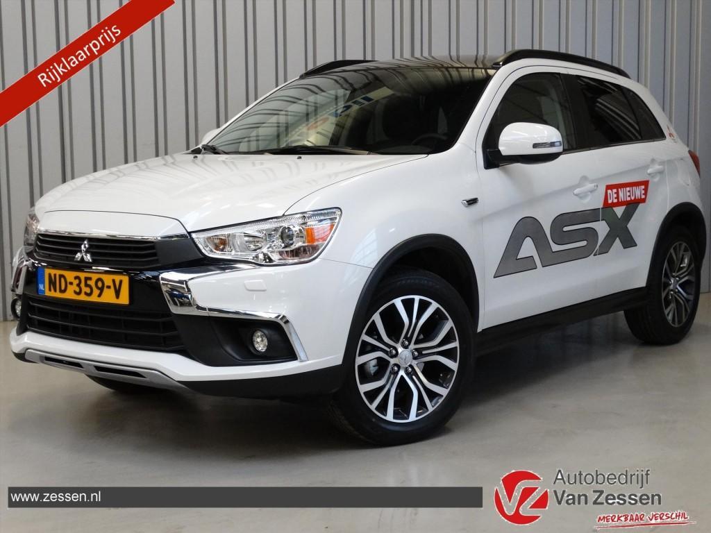 Mitsubishi Asx 1.6 mivec cleartec 117pk instyle * nw model * leder * rijklaar!