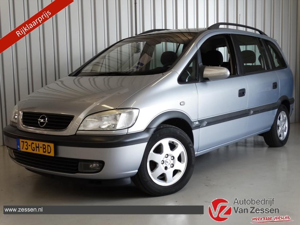 Opel Zafira 1.8 16v elegance * airco * nap * nw apk