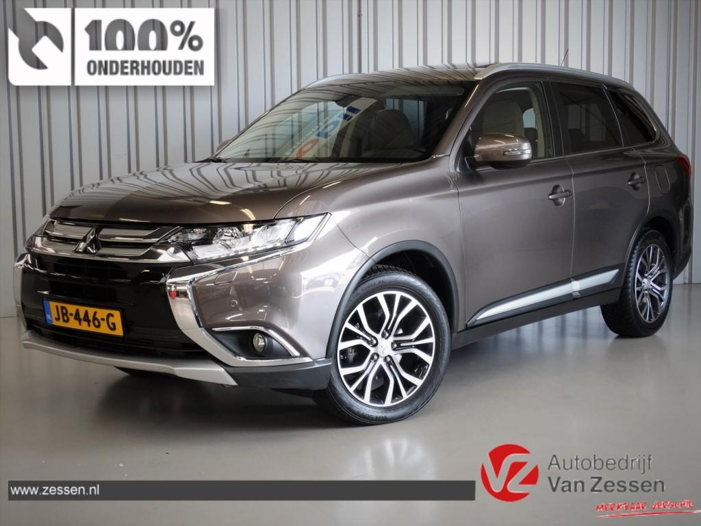 Mitsubishi Outlander 2.2 di-d 150pk 4wd aut 7pl instyle * full options!