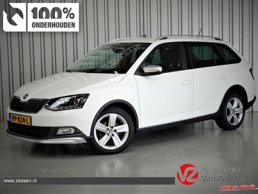 Škoda Fabia 1.2 tsi 90pk scoutline * clima * navi * keyless