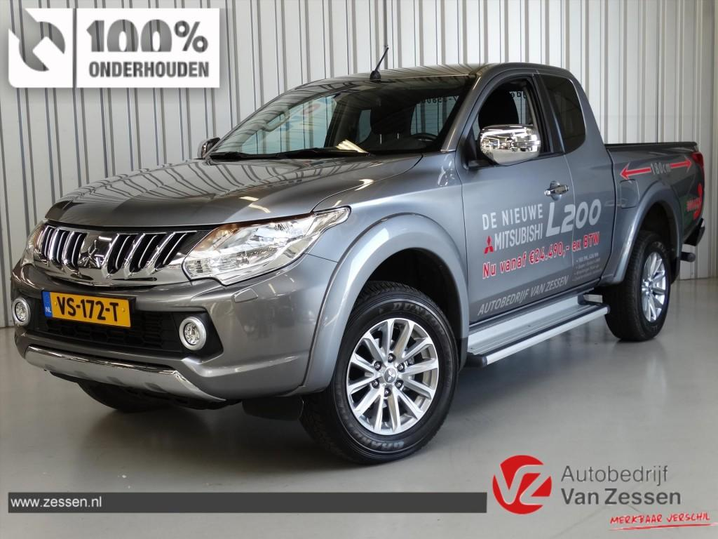 Mitsubishi L200 2.4 DI-D 181PK ClubCab Intense * Full Options * Rijklaarprijs!
