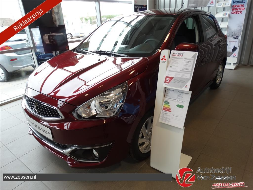 Mitsubishi Space star 1.0 cleartec intense nieuw!