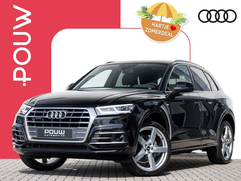 Audi Q5 2.0 tdi 190pk s-tronic quattro s-line edition + virtual cockpit + luchtvering + b&o sound