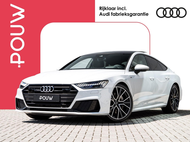 Audi A7 Sportback 55 tfsi 340pk s-tronic quattro pro line s + luchtvering + standkachel