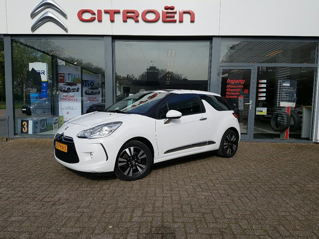 Citroën Ds3 Vti 120 so chic in white