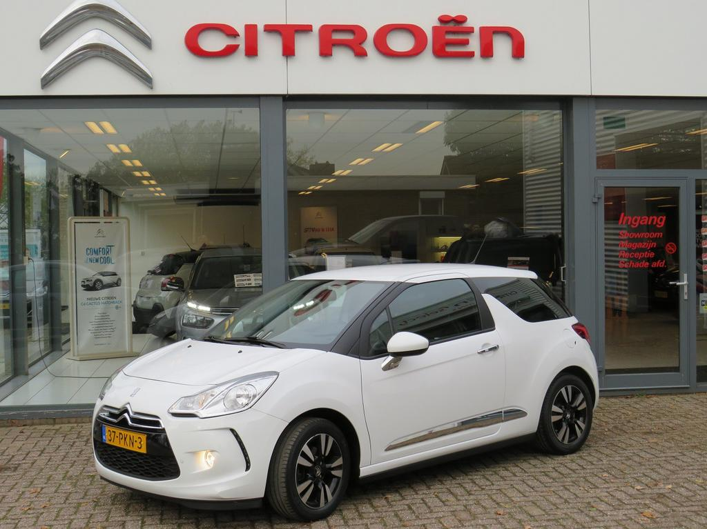 Citroën Ds3 Vti 120 so chic in white airco