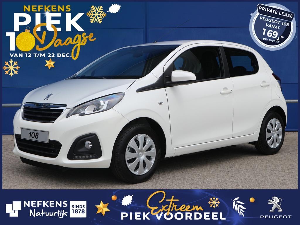 Peugeot 108 1.0 72 pk active voorraad voordeel