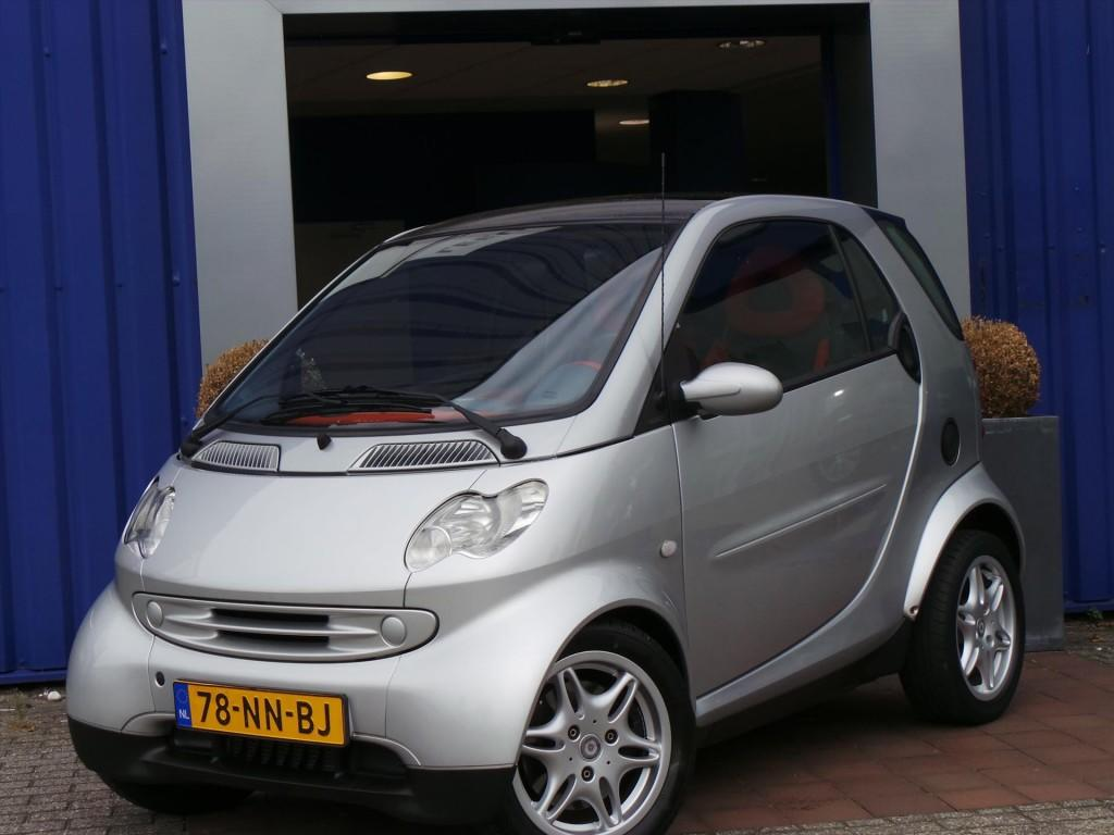 Smart Smart 0.7 city coupe 45kw aut passion panoramadak!